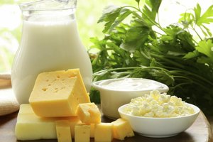 List of Iodine Content Found in All Dairy Foods
