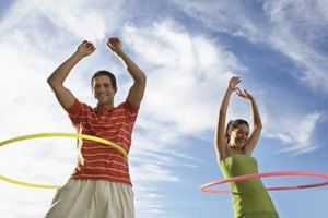 How to Calculate Calories Burned With a Hula Hoop
