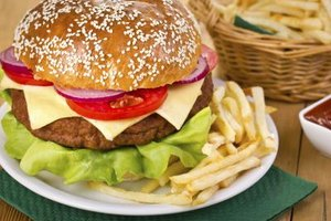 Hamburger Bun Nutrition Information