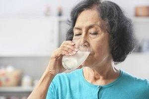 Liquid Food Supplements for an Elderly Person