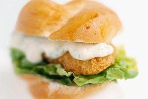 Calories in a mcdonald 39 s veggie burger livestrong com for How many calories in a mcdonald s fish sandwich