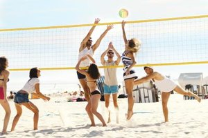The Advantages of Playing Volleyball
