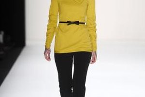 What Complements a Yellow Sweater?