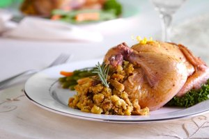 How to Cook Stove Top Stuffing Stuffed Cornish Hens