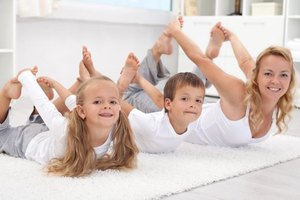 Instructions for Stretching Activities for Children