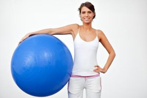Pros & Cons of Sitting on a Stability Ball