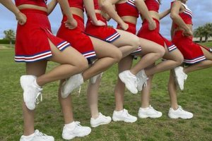Cheerleading Exercises for Bases