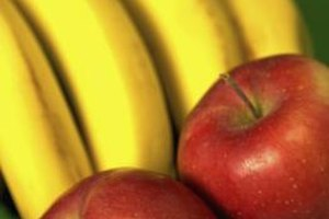 How to Dehydrate Apples and Bananas