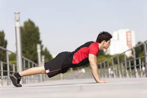 How to Control Breathing During Push Ups