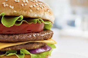 How Many Calories Does a Hamburger Have?