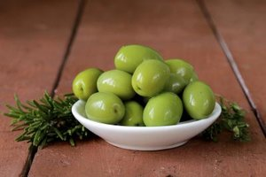 Calories in a Green Olive