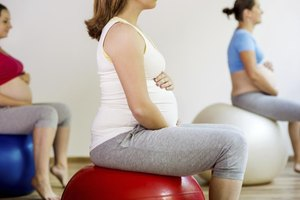 Exercises With an Exercise Ball to Help Induce Labor