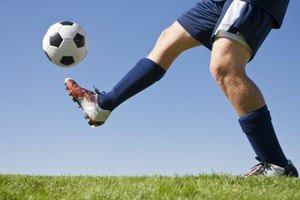 Techniques to Kick a Soccer Ball Far