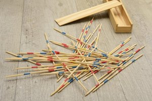 Directions for Pick Up Sticks