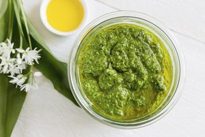 How to Use a Jar of Pesto Sauce to Make Creamy Pesto