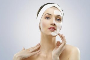 Peptides in Face Cream