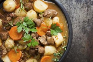 How to Cook Stew Meat in the Oven