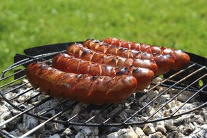 How to Grill Bratwurst on Charcoal