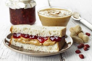 A Healthy Peanut Butter and Jelly Sandwich