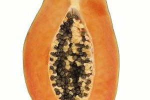 How to Eat a Raw Papaya