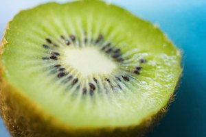 Are Green Kiwi Fruit & Gold Kiwi Fruit Nutritionally th…