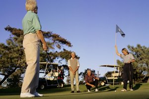 Four-Person Scramble Golf Rules