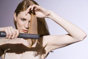 How to Prevent Split Ends When Flat-Ironing Your Hair