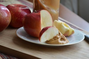 A Healthy Breakfast With Peanut Butter
