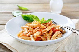 Calories in Cooked Penne Pasta
