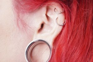 How to Heal Infected Stretched Ears
