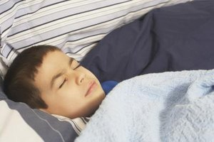 What to Do for Children Wheezing & Grunting While Sleep…
