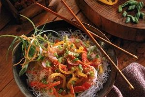 Nutrition Information of Clear Korean Noodles