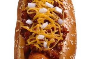 Calories in a Chili Cheese Hot Dog