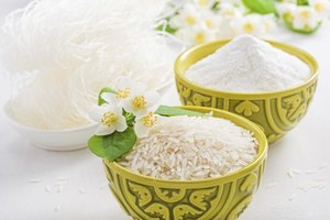 How to Substitute Rice Flour for All-Purpose Flour in C…