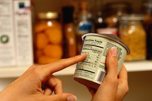 Deconstructing a Nutrition Label