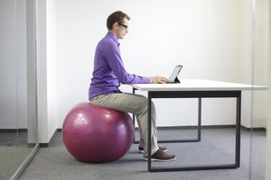 Stomach Exercises to Do in the Office