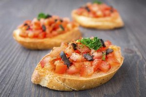 Calories in Bruschetta