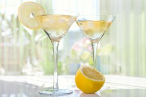 How Many Calories Are in a Lemon Drop Martini?