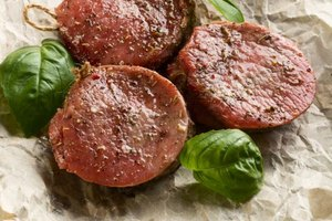 How to Grill Beef Medallions