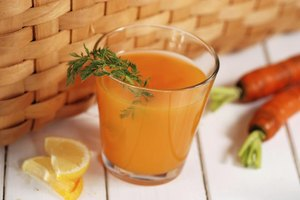 Nutritional Value for Raw Carrot Juice