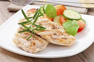 Nutritional Information for a One Ounce Chicken Breast