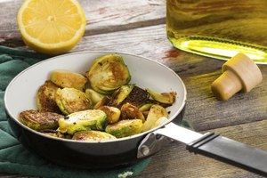 How to Blanch Brussels Sprouts and Then Saute Them in O…