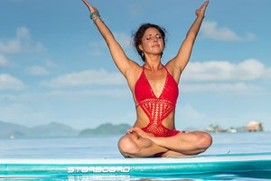 Get Fit on the Water With Paddleboard Yoga
