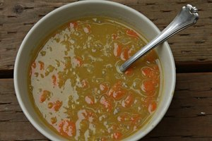 Nutritional Facts for Homemade Split Pea Soup