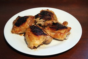 How to Boil Chicken for a BBQ