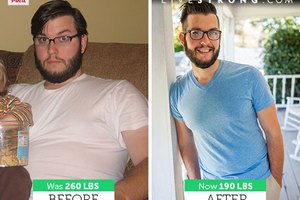 How Dan W. Lost 70 Pounds!