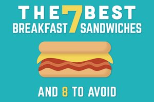 The 7 Best Breakfast Sandwiches & 8 to AVOID