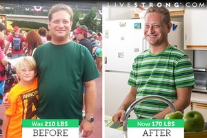 How Evan S. Used LIVESTRONG.COM's MyPlate to Lose 40 Po…