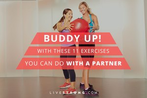 Buddy Up With These 11 Exercises You Can Do With a Part…