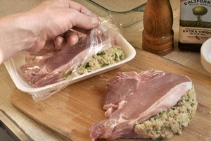 How to Cook Pre-Stuffed Pork Chops